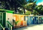 Colorful creole houses / Cases créoles colorées