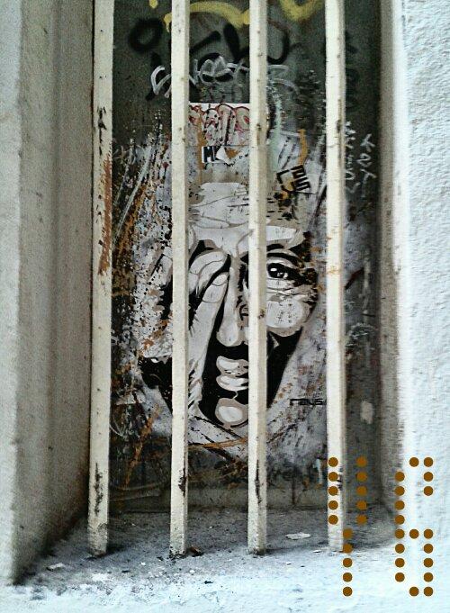 Freedom Liberté street art